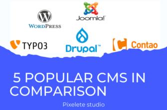 5 Popular CMSs in Comparison