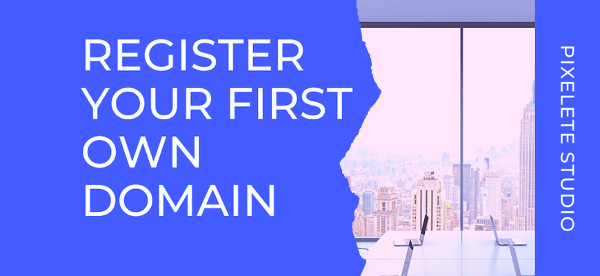 Register your First own Domain